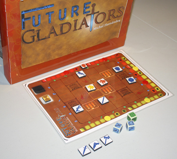 Future Gladiators: Sangre y Dados.